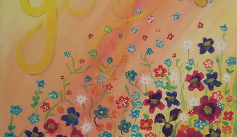 Painting Alaskan Flowers