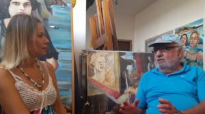 Giulia Marchetti and Roy Heffner