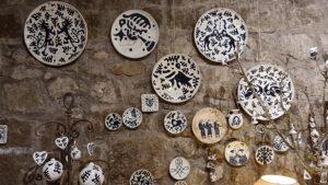 The Medieval Art of Ceramics and Tarots in Viterbo