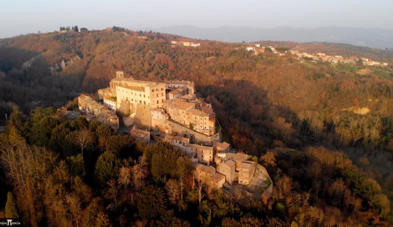 Roccalvecce, Costaguti Castle